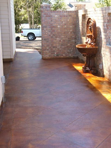 Artistic Concrete - Stained Concrete Floors, Interior and Exterior ...