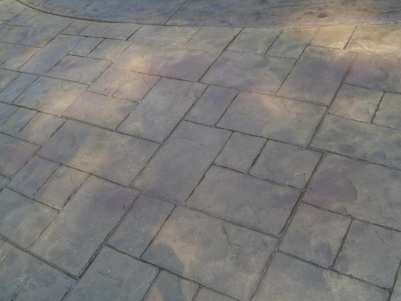 Artistic Concrete Featured Stamped Concrete Pool Apron